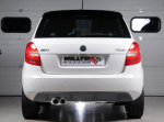 Cat Back Non Resonated Skoda Fabia VRS 1.4 TSI